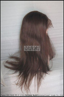 lace wigs - 100 human hair wig full lace wig inch chocolate brown