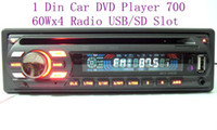 Wholesale Car DVD Player Din In Dash Detachable Panel DVD USB SD AUX FM AM Stereo Audio Player pc
