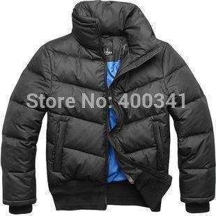 2017 Men&39S Ex Heavy Down Jacket Feather Black Outware Coat Clothes