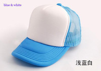Wholesale Plain trucker hats Fashion car Driver cap mesh back hat