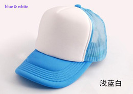 Wholesale Plain trucker hats Fashion car Driver cap mesh back hat