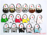 purse hanger wholesale - Animal bag hook OEM Round foldable Bag Hanger Purse Hook Handbag FH60