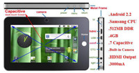 Tablet PC 7 inch android 2.2 - 7 quot google android S5PV210 MB GHz Capacitive Dropad A8 Tablet PC