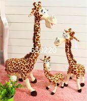 Wholesale High quality Madagascar Melmen Toys giant stuffed Animal Plush cm cute giraffe Toys for children