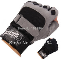 bicycle weight training - Gym Body Building Training Fitness Sports Gloves Weight lifting Exercise Dumbbell Fingerless Bicycle Breathable Workout Mittens