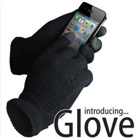 acrylic glove box - Glove Screen gloves with High grade box Unisex Winter for Iphone glove Dropshipping HG123