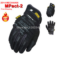 Wholesale New Mechanix Wear M Pact Heavy Duty Protection Motorcycle Airsoft Military Tactical Cycling Full Finger Gloves