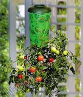 Wholesale Novelty DIY Home Decoration Item TOPSY TURVY UPSIDE DOWN TOMATO VEGETABLE PLANTER