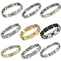 Wholesale Tungsten Carbide Bracelet with Magnetic Balance Energy Healthy Bracelets MIX ORDER
