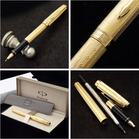 Wholesale Original Parker Brand Office Executive Ballpoint Pen Writing Roller Pen stationery parker pens school ball pen