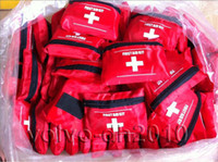Wholesale First Aid Kit For Outdoor Travel Sports Emergency Survival Indoor Or Car Treatment Pack Bag