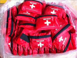 Wholesale EMERGENCY FIRST AID KIT BAG BEST RED