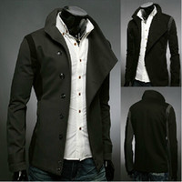 ashes england - Winter New England small suit black ash color matching a button casual suit