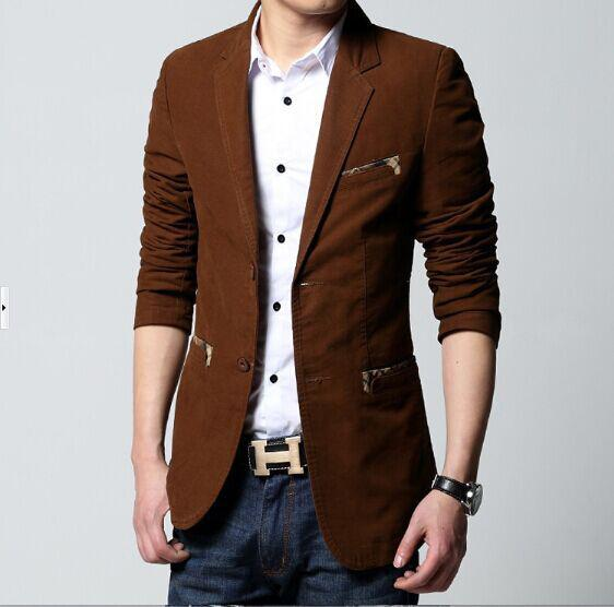 Best Blazer Masculino,Slim Blazer,Jachet,For Elegant And ...