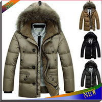 Cheap New Brand Warm Winter Jacket Men Coat Thicken Outerwear The North Hoodie Jacket Outdoors Men's Parka Coat Hoody Duck Down Jacket
