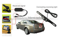 Wholesale GHz Wireless Receiver Car Rear View Back UP Reversing Camera Monitor Q0025A