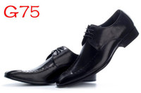 Wholesale Top Quality LaoLi Italian Brand Men s Black Dress Shoes Leather Casual Office Shoe For Man G3265f