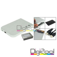 Wholesale USB inch Aluminium HDD Hard Disk Enclosure Case New Hot