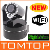 Wholesale Wireless IP Camera WiFi IR Night Vision P T Audio Camera Security Surveillance S86 Not Foscam