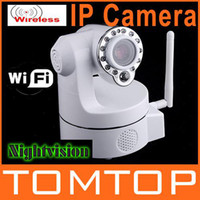 Wholesale Wireless IP Camera WiFi IR Nightvision Audio Camera Security Surveillance S86W Not Foscam