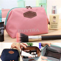 ab travel - New BA Portable Fancy Travel Cosmetic Bag Makeup Case Zipper Delicate Clean Mini Women Bags AB