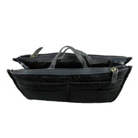 best travel handbag - Voberry High Quality Black Nylon Handbag Insert Women Lady Comestic Gadget Purse Organizer for Travel Outing best deal