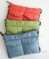 apple ipad inner - Colors Apple iPad Bag in Bag Inner Bag Organizer Hangbag Insert ipad purse Nylon Digital Organizer Bag cosmetic train cases