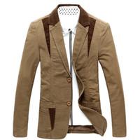 Wholesale M XXXL XL XL XL large size biggest chest cm casual blazer men cotton spring new classic men s suit jacket