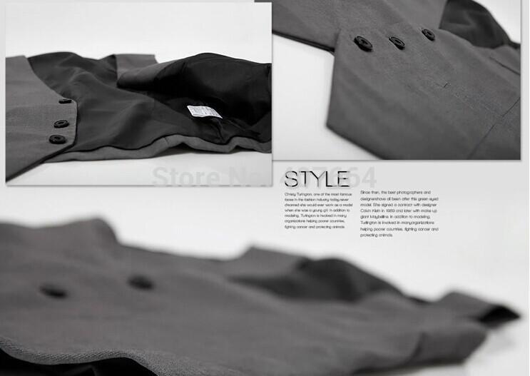 Buy Sale 819!Autumn Plus Size XXXL Men's Suits & Blazer Vest Men Fashion Stylish Casual Slim Fit Waistcoat Tank Top 6Z
