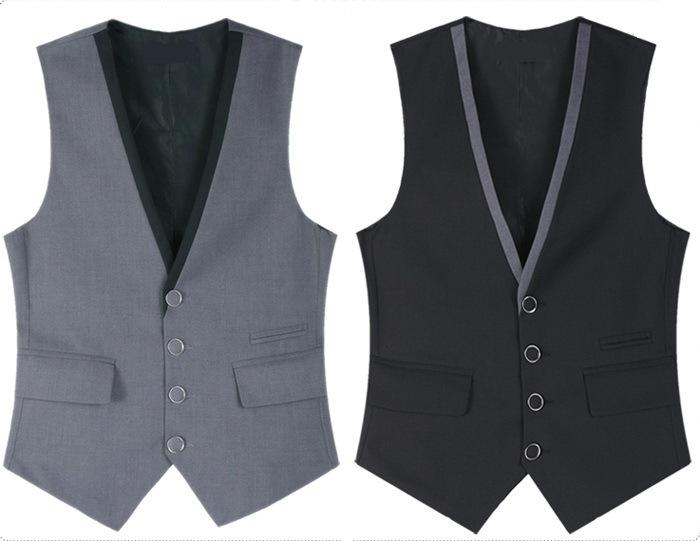 Best Uk Style Men Suit Vest 2015 New Arrival Slim Fit Fashion ...