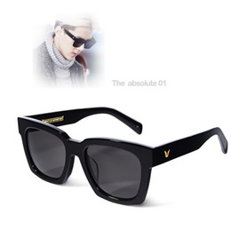 Wholesale Hot Gentle monster sunglasses THE ABSOLUTE Vintage Female Oversized Sun Glasses Points Men Women Polarized oculo feminino