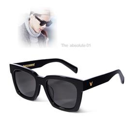 Wholesale Hot Gentle monster sunglasses THE ABSOLUTE Vintage Female Oversized Sun Glasses Points Men Women Polarized oculo feminino
