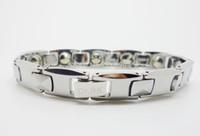Wholesale man purely Germanium Carbide Tungsten Bracelet Health magnetic bracelet Couple bracelet men bracelet JAPAN