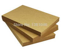 Wholesale Sheets Blank A4 BROWN KRAFT gsm Recycled Light Cardstock Plain Paper X21cm DIY