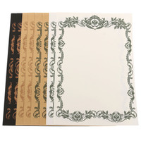 ancient writing styles - Romantic Pattern European Style Ancient Letter Writing Paper Stationery cm cm