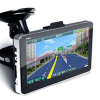 Wholesale 7 inch GPS Navigation System with Bluetooth AV IN GB Memory Windows CE