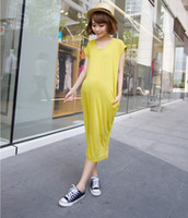 anti radiation clothes - Bohimian Dress for Pregnant Women Fashion Maternity Long Dressess Short Sleeve Casual Pregnancy Clothes Summer Designer Color