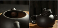 Wholesale 120ml antique yixing purple clay tea pot High quality Undressed ore purple clay teapot