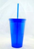 acrylic tumblers - BPA Free Ounce Double Wall Acrylic Tumbler with Lid By DHL