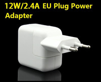 Cheap High Quality 12W 2.4A USB Power Adapter W EU Plug AC Wall Travel Charger Adapter For iPhone 6 6plus 5 5S iPad 4 Air