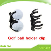 Wholesale Black Golf Accessory Golf Ball Holder Clip Magic Ball Games Prop Organizer Golfer Golfing Tool
