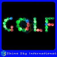golf driving range - Led Golf Ball Driving Range Golf Ball with Led Light Golf Ball for Golf Club Pc