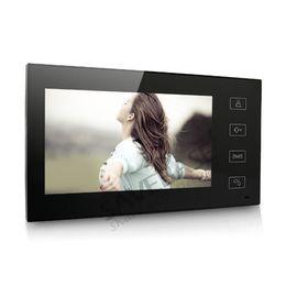 """Systèmes d'interphone de portier vidéo à vendre-Gros-HOMSECUR 7 """"Wired Video Door Phone Audio Visuel Portier 1V3 Pour Villa Maison"""
