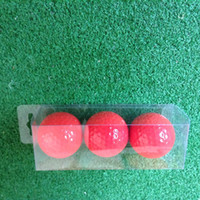 golf ball sleeves - PVC sleeve packaging assorted color golf ball
