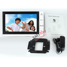 Wholesale-9 inch doorphone monitor support SD Card video recording intercom (just monitor)