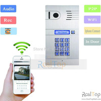 door - Wireless Wifi IP Intercom G G video door phone System Home Access Door Open Remote Control camera Doorbell