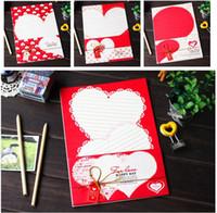 best watercolor set - Best wish romantic stationery Love designs retro watercolor Letter Set sheets set discounts