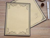 beautiful writing paper - New design Europe type restoring ancient ways is kraft paper series Beautiful decorative pattern Writing paper stationery
