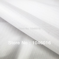 Wholesale White Yard Wide x Yard long Light Coated Ripstop Nylon Fabric Material Waterproof WP Kite cloth Outdoor