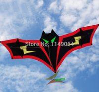 bats bird - high quality m lightning bat delta kite with handle line easy control wheel set storm eagle animal birds children